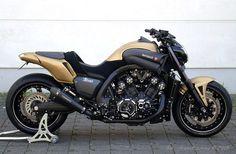 Moto : Yamaha V-Max Hyper modificada. Ducati, Motos Yamaha, Yamaha Motorcycles, Custom Motorcycles, Cars And Motorcycles, Street Fighter Motorcycle, Suzuki Motorcycle, Motorcycle Design, Yamaha V Max