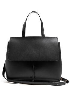 MANSUR GAVRIEL Lady Top-Handle Leather Bag.  mansurgavriel  bags  shoulder  bags be931371b2c3d