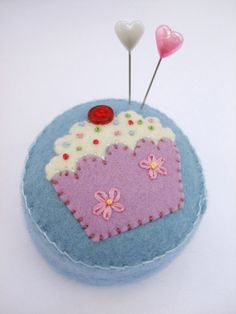A very cute #pincushion. Makes me hungry.