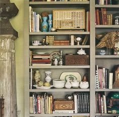 Styled bookshelves. Adventures collection. Jaime's (I Suwanee) Bookcase of the Day