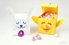 DIY Toy : DIY EASTER TREAT BOXES