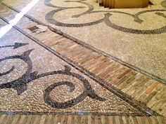 Cordoba, Spain -- Plaza floors