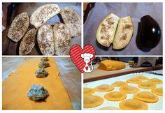 Ricette e Segreti in Cucina : Ravioli melanzane, maggiorana e ricotta di pecora