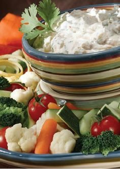 Strained, low-fat, plain yogurt is a nutritious substitute for cheese or sour cream, so this Creamy Mexican Salsa Dip from Inspired Gathering retains the flavor and richness you crave in a guilt-free, healthy snack.