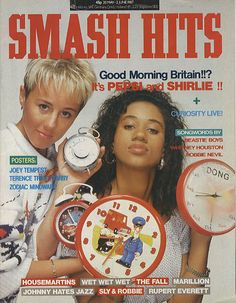Pepsi & Shirlie,Smash Hits - May 1987,UK,Deleted,MAGAZINE,343822