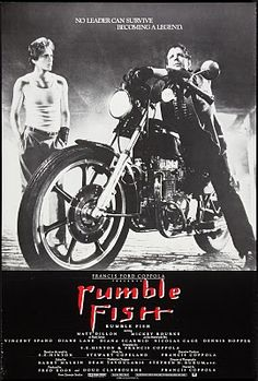 DREGstudios! The Artwork of Brandt Hardin: The 32 Greatest COMING of AGE MOVIES - Rumble Fish