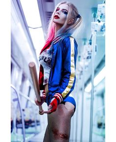 Katya Kosova as Harley Quinn