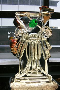 Image result for ice sculpture luge