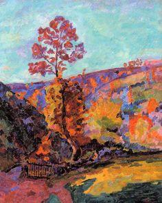 'Paisaje en Crozant', óleo sobre lienzo de Jean Baptiste Armand Guillaumin…