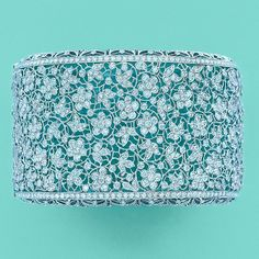 Tiffany diamond bracelet.  I have seen this bracelet in person and it is jaw dropping beautiful.