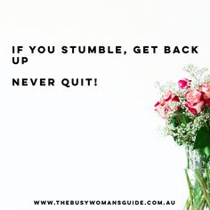 Never quit, never give up! You are enough.