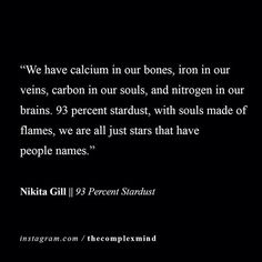 #290 - Nikita Gill - Send us your favorite #quotes, #poems or #excerpts via DM for a chance to be featured. #TheComplexMind ______________________________________________ #quote #quoteoftheday #inspire #inspiration #motivation #dreams #goodvibes #truth #poem #poetry #words #love #life
