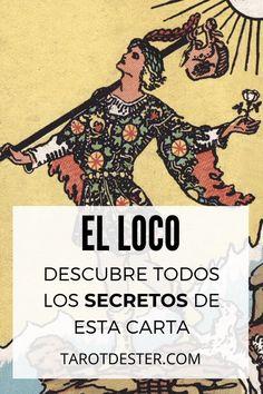 El Loco es una de las cartas de Tarot más famosas. Es un Arcano Mayor. Descubre todos los secretos y significados pulsando la imagen. Tarot Significado, Memes, Poster, Tarot Spreads, Tarot Cards, Meme, Billboard