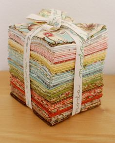 Oh but I do love Moda fabric! We have a large supply of Moda precuts and fabrics including many hard to find out of stock Moda fabrics! www.tresuredtimesquiltingandgifts.org