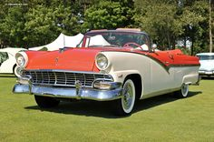 1956 Ford Fairlane (Skyliner, Crown Victoria, Sunliner, Lifeguard ...