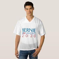 Bernie Sanders 2020 Men's Football Jersey - diy customize unique idea