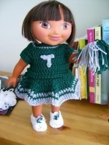 We've Got the T.E.A.M. - doll - Free Original Patterns - Crochetville