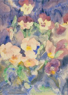 Charles Demuth  Pansies  1915