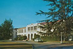 Tustin High School - 1950s   My Mom graduated in 49 from here :-)