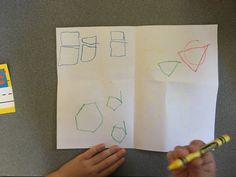 Fun activities to assess your kindergartners' shape knowledge. Engaging!