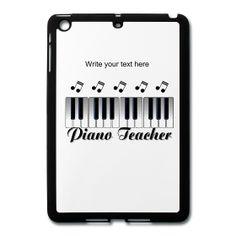 Piano Teacher iPad Mini Case from PersonalizedSouvenirs.com.