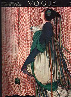 Ideas for fashion illustration vogue magazine covers art deco Vogue Vintage, Vintage Vogue Covers, Art Vintage, Vintage Posters, Art Deco Illustration, Fashion Illustration Poses, Dress Illustration, Art Illustrations, Art Nouveau Pintura