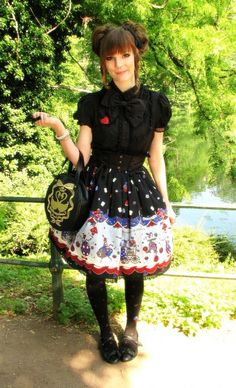 Daily Lolita Coordinates - AatP Outfit for Japanday/ International Lolita Day