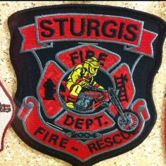 Sturgis FD patch - found at Saukville Fire Department