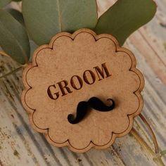 Groom Badge Order online  - www.bunchesforafrica.com