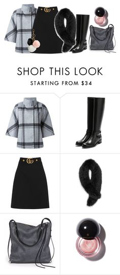 """Untitled #353"" by doinabarsan ❤ liked on Polyvore featuring FAY, Rupert Sanderson, Gucci, Andrew Marc, Ina Kent and GUESS"