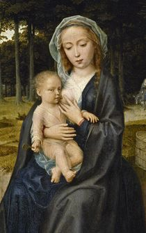 Mother Of Christ, Blessed Mother, Mother Mary, Early Christian, Christian Art, David Painting, Mom Milk, Gerard David, Art Thou