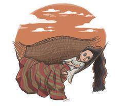 Filipina preparing for a Siesta by James Claridades Philippine Mythology, Philippine Art, Filipino Art, Filipino Culture, Character Concept, Character Art, Character Design, Character Illustration, Illustration Art