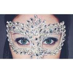 This masquerade mask is perfect for any Sweet Sixteen or Sweet Fifteen girl! Or be sure to make a elegant entrance at your prom! Check them out at Estelle's Dressy Dresses!