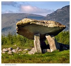 Kilclooney Dolmen, Co. Donegal by Signal-Womb