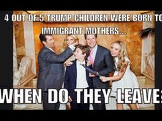 Go ahead and overturn birthright citizenship...