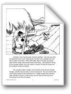 The Bird with the Broken Leg: A South Korean Folktale. Download it at Examville.com - The Education Marketplace. #scholastic #kidsbooks @Karen Echols #teachers #teaching #elementaryschools #teachercreated #ebooks #books #education #classrooms #commoncore #examville