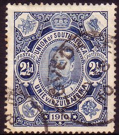 South Africa 1910 Opening of Union Fine Used SG 2 Scott 1 Other South African Stamps HERE
