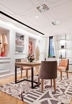 this dressing room is sublime and elegant. Casa Decor Madrid | Inmaculada Recio