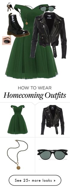 """Untitled #1119"" by royalcouncil on Polyvore featuring Dr. Martens, Ray-Ban, French Kande and ASAP"