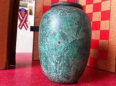Verdigris Bronze Vase