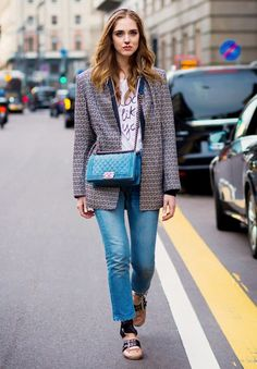Chiara Ferragni wears the Miu Miu ballet flats every fashion girl is coveting