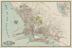 historic berkeley/oakland/alameda map