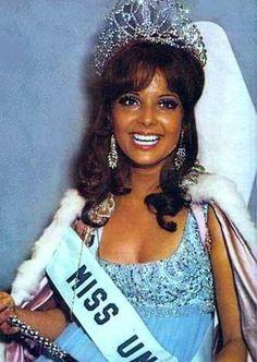 1970 Miss Universe - Marisol Malaret Contreras of Puerto Nuevo, San Juan, Puerto Rico.