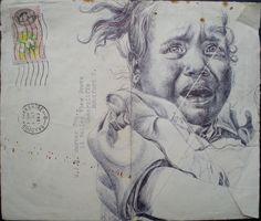 just biro by mark powell bic biro drawings, via Flickr