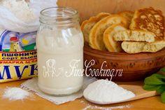 Закваска из пшеничной муки - рецепт с фото