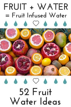 11 Delicious Detox Water Recipes Your Body Will Love. Are you trying to lose weight* improve your digestive health* fight inflammation and/or boost your immune system? These detox water recipes can help you… Infused Water Recipes, Fruit Infused Water, Fruit Water, Fresh Fruit, Citrus Fruits, Infused Waters, Mint Water, Kefir, Menu Detox