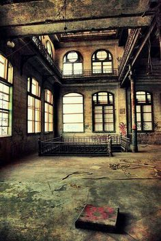 Abandoned brewery in Memphis