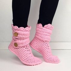 Handmade crochet light pink booties Crochet handmade and there is costume work for colors and sizes by leaving note with your own size and favorite color handmade Shoes Ankle Boots & Booties Crochet Slipper Boots, Booties Crochet, Knitted Slippers, Crochet Shoes, Black Slippers, Pink Slippers, Modern Crochet, Bootie Boots, Ankle Boots