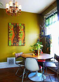 Modern wall art / dining room