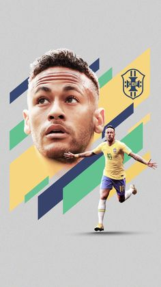 World Cup 2018 on Behance - Flatpins. Brazil Football Team, Ronaldo Football, Fifa Football, National Football Teams, Sport Football, Cristino Ronaldo, Cristiano Ronaldo Juventus, Camisa Arsenal, Neymar Jr Wallpapers